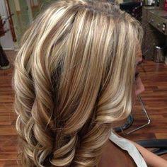 #highlights #blonde #brown