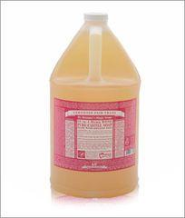 Dr. Bronner's Rose Liquid Soap (7.9/10)