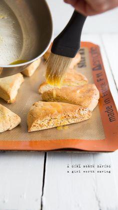 Grain Free Orange Scones