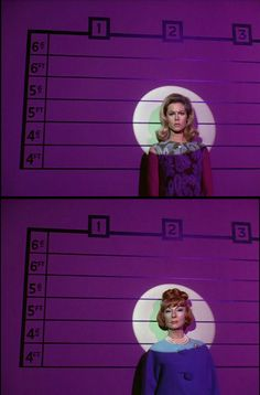 Elizabeth Montgomery & Agnes Moorehead in Bewitched (1964-72, ABC)