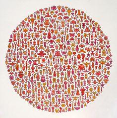 """""""motsu motsu"""" (2011) by Shinri  Yokoyama."""