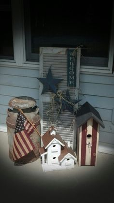 Country Porch Decor