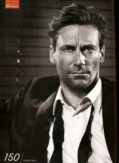 "Jon Hamm. ""Mad Men"""
