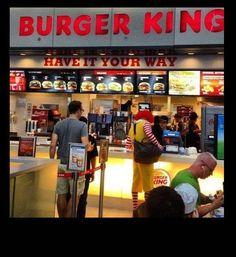 Traitor! (ronald-at-burger-king)