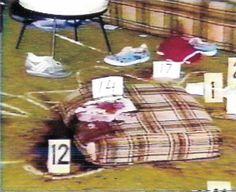 Keddie murders crime scene.