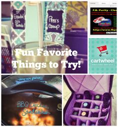 Fun Favorite Things to Try -- stainless steel straws, crockpot, cartwheel app, essential oil travel case, and FB purity  - Christmas ideas too :: OrganizingMadeFun.com