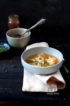 Chicken Wonton Soup @Serina Michelle | Simply Reem