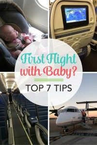 Flying with a baby f