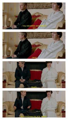 Sherlock quote Benedict Cumberbatch and Martin Freeman