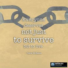"""""""Everyone deserves not just to survive but to live,"""" said 12 Years a Slave Director Steve McQueen, in dedicating the best movie Oscar to """"all the people who have endured slavery, and the 21 million people who still suffer slavery today.""""  #stevemcqueen #12yearsaslave"""