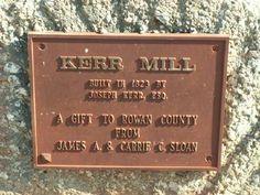 Kerr's Mill near Mooresville, Rowan Co., NC.