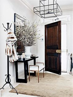 decor, decorate, entrance, entrance hall, entry, entryway, entry way, foyer, front hall, front door, hall, hallway, home, interior design, #interiors, modern, mudroom, mud room, parquet, stairwell, staircase, stair runner, stairs, stair hall