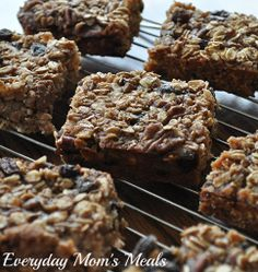 Chewy Oatmeal Bars