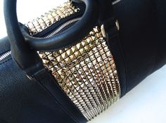 "DIY: Studded Sole Society ""Cassidy"" Weekender"