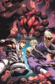 Street Fighter II 4 Cover by #UdonCrew on deviantART