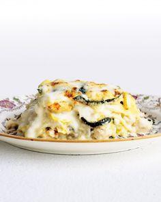 chicken and zucchini lasagna!