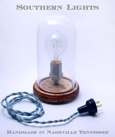 i just googled edison style table lamp and this awesome find came up from southern lights - $120