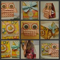 Owl party bags