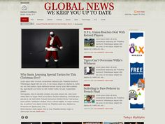 Wordpress newspaper themes (some paid, some free)