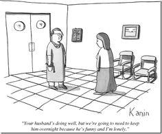 Doctors get lonely too...