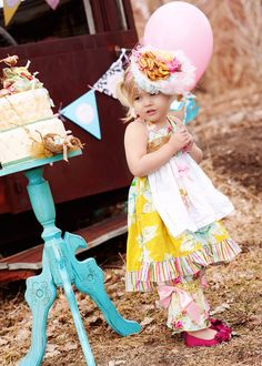 LOVING this for Hattie's 2 year pics!