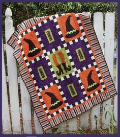 Witchy Woman quilt pattern at Abbey Lane Quilts