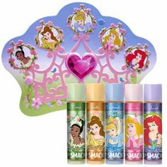 Disney Princess Lip Smacker Lip Collection in a Crown Tin by Bonne Bell Lip Smacker. $9.99. Great as a gift any time of year. MADE in the USA. Pretty As a Princess Lip Collection in a Tin. Collectible Crown Tin. Comes with 5 lip smackers. Feel forever sparkly with five enchantingly fun and flavorful Lip Smacker glosses together in a keepsake, crown-shaped tin that´s sure to hold all your treasures. Enjoy Lip Smackers® in Fresh Kiwi Pie, Tea Party Treats, Vani...