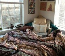 bohemian, hipster, indie, room, sheets, perfect, cuddle, love, winter, bedroom, sweater weather, peace, girl, hippie, boho, grunge, bed, hip...