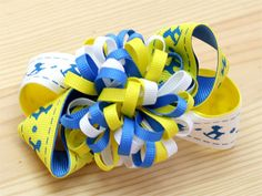 How To Make a Loopy Bow #hairbow #diy