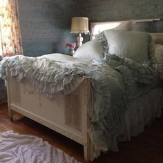rachel ashwell shabby chic...not target one........her main line..........so worth the $$$$...........bedding is my weakness.......