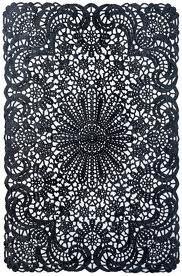 draw, black lace, surfac pattern, art, black white