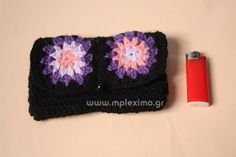 crochet tobacco case