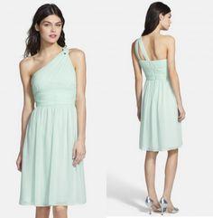 Mint Bridesmaid Dresses - Preppy Wedding Style