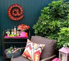 Backyard Summer Decor