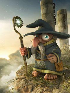 3d character design ortega elizald, carlo ortega, 3d character, artworks, character illustration, 3d artwork, digital art, wizard, character design