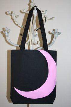 Cute crescent moon bag