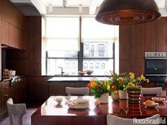 Designing a Modern Kitchen beauti kitchen, chairs, decorating ideas, bath, hous beauti, breakfast area, house beautiful kitchens 2014, beauti indoor, modern kitchens