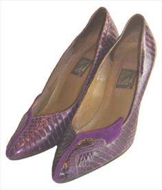 J Renee Purple 80s Shoes