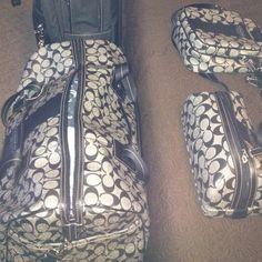 Luv my coach luggage