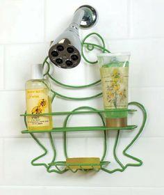 Frog Shaped Shower Caddy By Childrenu0027s Bathroom On Pinterest