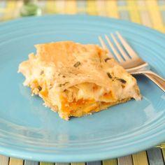 roasted butternut sage lasagna
