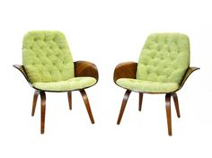 Pair of Plycraft MulhauserCherner Chairs