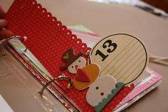 daili album, bookmarks, christmas scrapbook, decemb daili, first christmas, daili idea, mini albums, blog, diy christmas