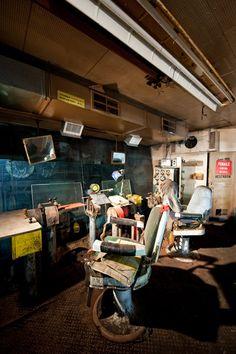 Photo by Scott Haefner: Barbershop Control Room