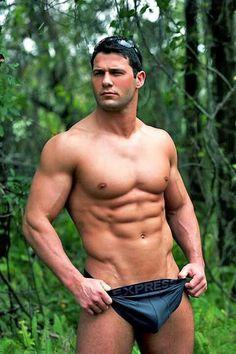 #bodybuilder #model #abs #briefs #underwear