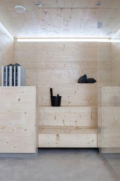 SAUNA ARCHITECTURE @ MAJA interior design, amaz sauna, small sauna, inspir interior, saunas, sauna architectur, bathroom inspir, master bathroom, spa