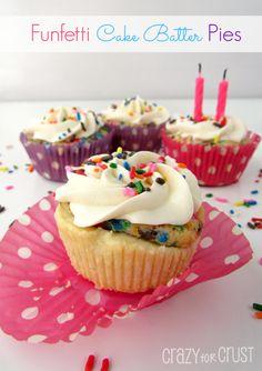 Funfetti Cake Batter Pies