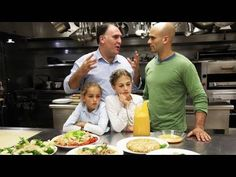 VIDEO: @ChefJoseAndres (Jose Andres) cooks Chicken w/ his kids. I wonder if Chef Jose would adopt me?