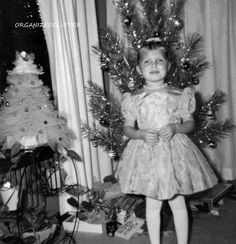 Early 1960's Christmas, aluminum Christmas tree.