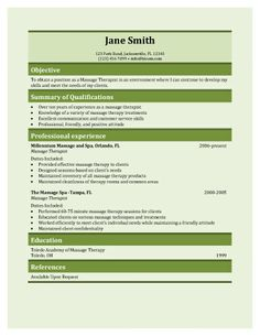 resume and cover letter for massage therapist sample of cover letter free sample resume cover - Sample Resume For Massage Therapist